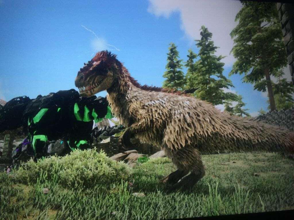 yutyranausaurus ARK