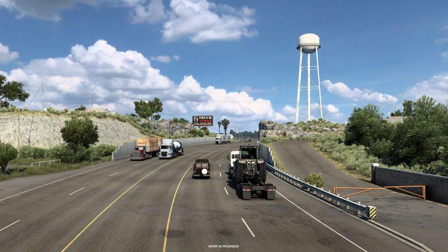 American Truck Simulator Texas DLC 1