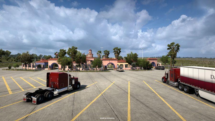 American Truck Simulator Texas DLC