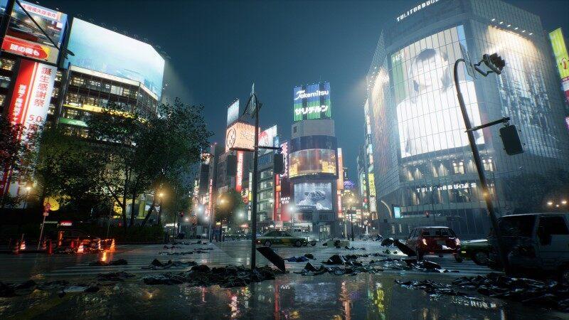 Ghostwire Tokyo world