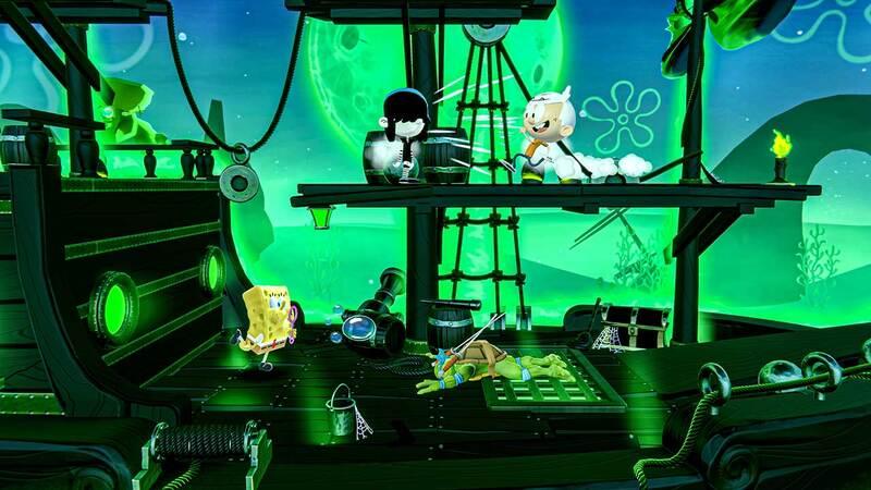 Nickelodeon All Stars Brawl Wavedash