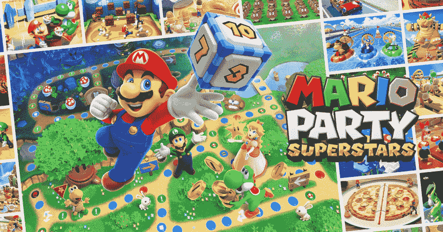 Mario Party Superstars Poster