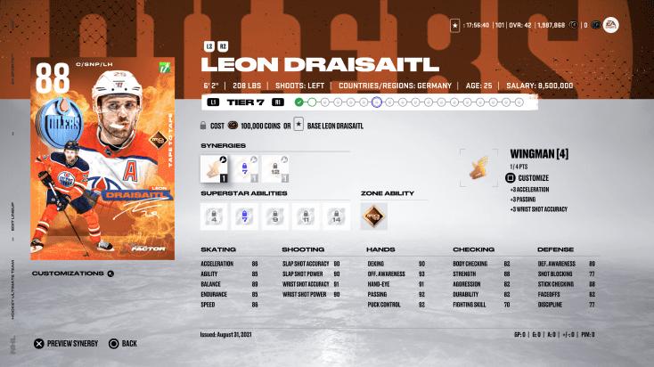 NHL 22 HUT