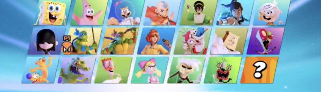 Nickelodeon All-Star Brawl Characters