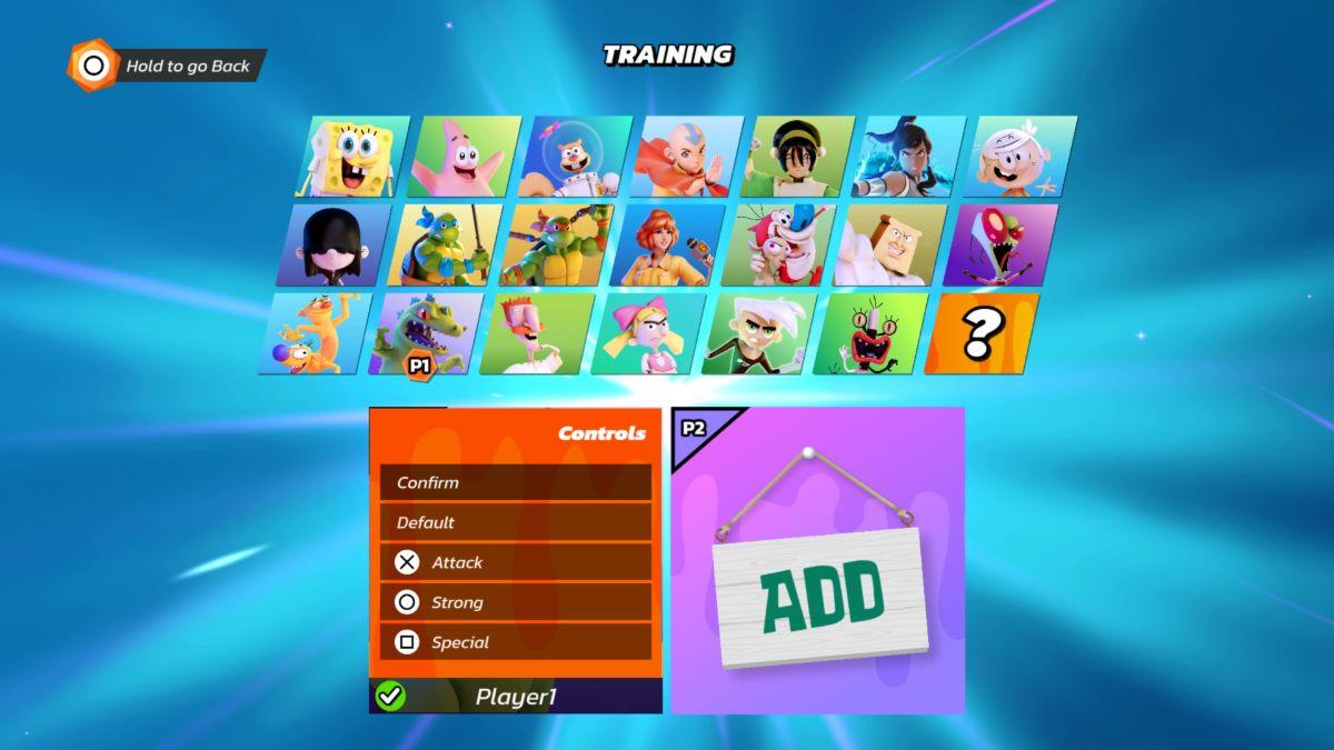 Nickelodeon All-Star Brawl remapping