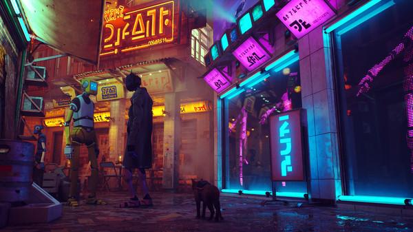 Stray Neon world