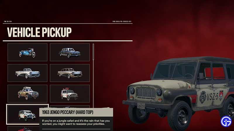 Far Cry 6 Vehicle Save To Garage